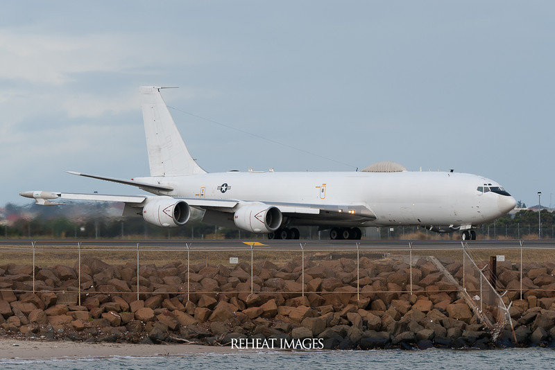 United States Navy Boeing E-6B Mercury at Sydney Airport