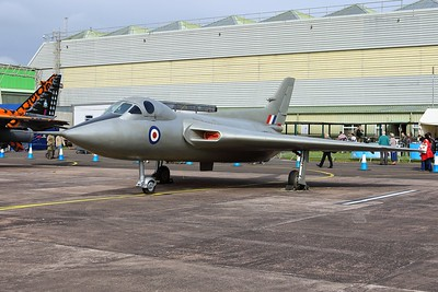 WZ744 Avro 707C @ RAF Cosford 19.06.16