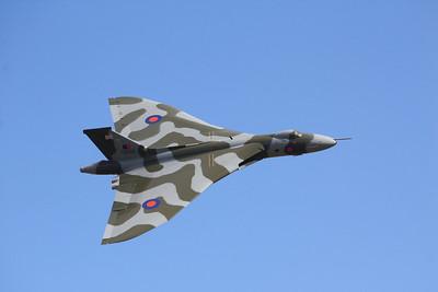 XH558 Avro 698 Vulcan B2 G-VLCN @ Duxford 08.09.12