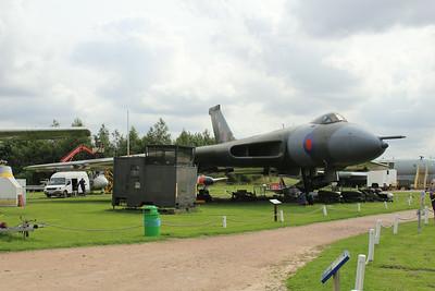 XM575 Avro 698 Vulcan B2A @ East Midlands Aeropark 31.07.14