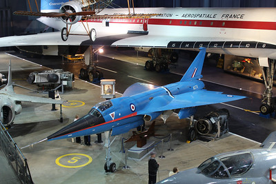 WG774 BAC 221 @ Fleet Air Arm Museum 30.05.14