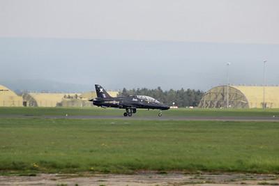 XX203 / CC BAE Systems Hawk T1A @ RAF Leeming 23.04.14