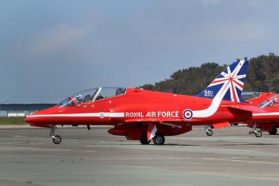 XX177 Hawk T1A @ Newquay Airport 31.05.14