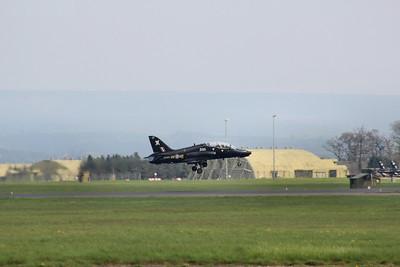 XX202 / CF BAE Systems Hawk T1A @ RAF Leeming 23.04.14
