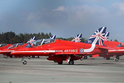 XX242 Hawk T1A @ Newquay Airport 31.05.14
