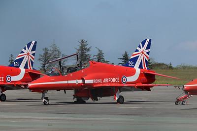 XX219 Hawk T1A @ Newquay Airport 31.05.14