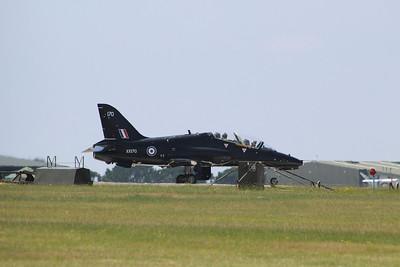 XX170 / 170 BAE Systems Hawk T1A - Taxis onto the runway @ RNAS Culdrose 16.07.13