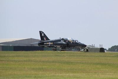 XX200 / CO BAE Systems Hawk T1A - Taxis onto the runway @ RNAS Culdrose 16.07.13