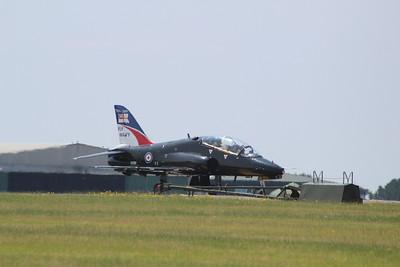 XX159 BAE Systems Hawk T1A - Taxis onto the runway @ RNAS Culdrose 16.07.13