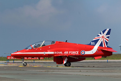 XX245 Hawk T1A @ Newquay Airport 31.05.14