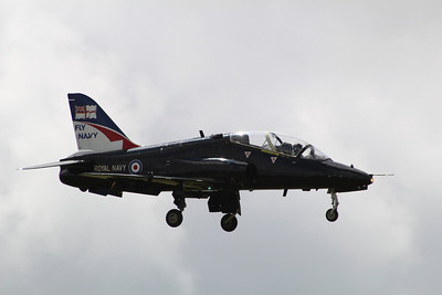 XX157 BAE Systems Hawk T1A - About to touchdown @ RNAS Culdrose 23.07.13