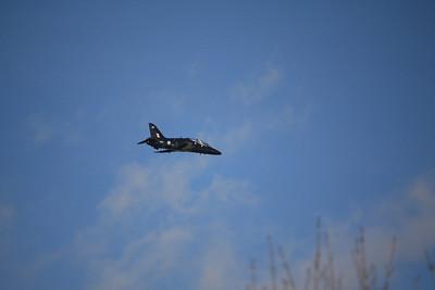 XX217 / 217 BAE Systems Hawk T1A over Dartmoor 07.02.12