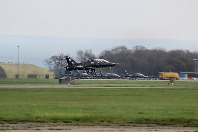 XX189 / CR BAE Systems Hawk T1A @ RAF Leeming 23.04.14