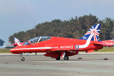 XX244 Hawk T1A @ Newquay Airport 31.05.14