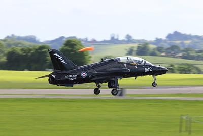XX205 BAE Systems Hawk T1A @ RNAS Yeovilton 02.07.16