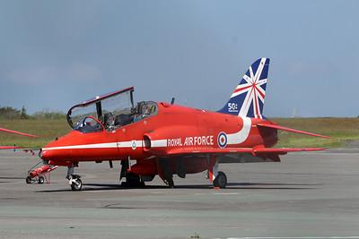 XX264 Hawk T1A @ Newquay Airport 31.05.14