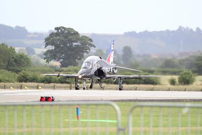 XX281 BAE Systems Hawk T1A @ RNAS Yeovilton 11.07.15