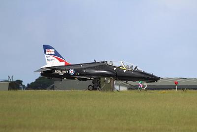 XX157 BAE Systems Hawk T1A - Taxis onto the runway @ RNAS Culdrose 23.07.13