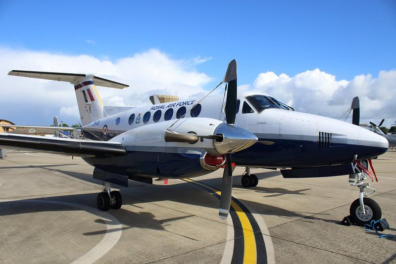 ZK451 / K Beechcraft King Air B200 @ RNAS Yeovilton 02.07.16