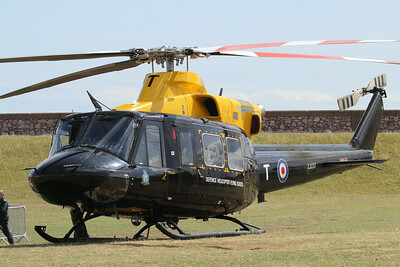 ZJ237 / T Bell 412EP Griffon HT1 @ Dawlish Warren 22.08.14