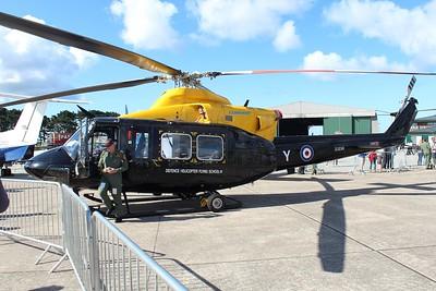 ZJ238 / Y / G-BXHC Bell 412EP Griffon HT1 @ RNAS Culdrose 30.07.15