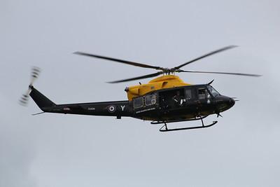 ZJ238 / Y / G-BXHC Bell 412EP Griffon HT1 cn36162 - From 60sqn approaching RNAS Culdrose 23.07.13