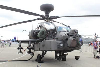 ZJ181 Boeing WAH-64D Apache AH1 @ RNAS Yeovilton 11.07.15