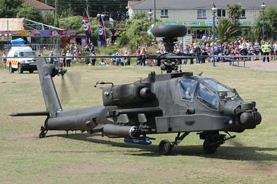 ZJ199 Boeing WAH-64D Apache AH1 @ Dawlish Warren 22.08.14