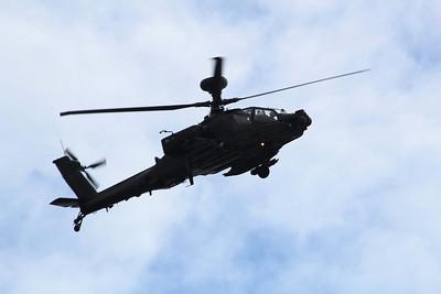 ZJ190 Boeing WAH-64D Apache AH1 - Over Dartmoor heading towards Plymouth 09.04.14