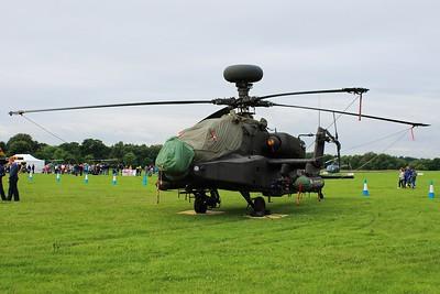 ZJ184 Boeing WAH-64D Apache AH1 @ RAF Cosford 19.06.16