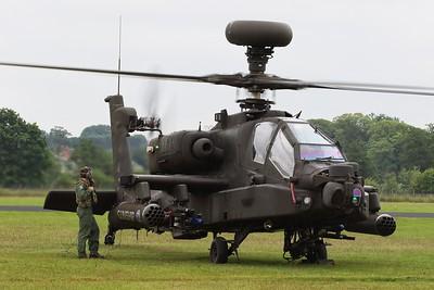 ZJ223 Boeing WAH-64D Apache AH1 @ RAF Cosford 19.06.16