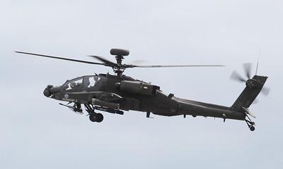 ZJ205 Boeing WAH-64D Apache AH1 @ RNAS Yeovilton 11.07.15