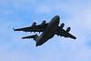 ZZ177 Boeing C17 Globemaster III @ Exeter Airport 10.08.16