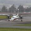 F-ZBMC / 73 Securite Civile De Havilland Canada DHC-8-400Q MR @ Exeter Airport 29.03.16