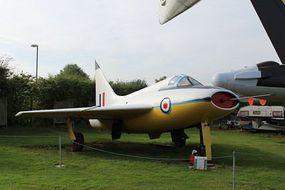 VT935 Boulton Paul P.111a @ Midland Air Museum 24.09.13