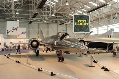 XF929 Bristol 188 @ RAF Museum Cosford 24.09.13