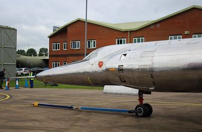 XF929 Bristol 188 @ RAF Cosford 19.06.16