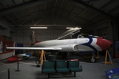21231 Canadair CT-133 Silver Star Mk3 @ RAF Manston History Museum 16.10.11