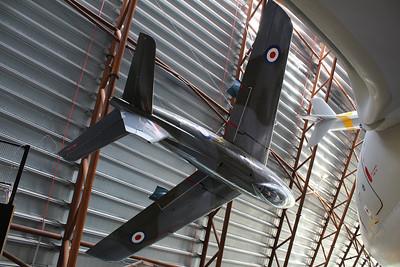 XB812 Canadair CL-13 Sabre F4 @ RAF Museum Cosford 24.09.13