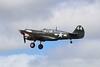 """43-5802 Curtiss P-40M Kittyhawk as P-40N-1 Warhawk 44-2104590 """"Lulu Belle"""" @ RNAS Culdrose 30.07.15"""