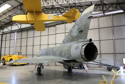 538 French AF Dassault Mirage IIIE @ Yorkshire Air Museum 21.04.14