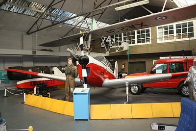 WP772 De Havilland Canada DHC-1 Chipmunk T10 @ RAF Manston History Museum 16.10.11