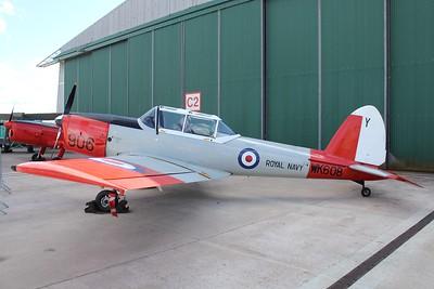 WK608 De Havilland Chipmunk T10 @ RNAS Culdrose 30.07.15