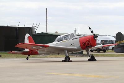 WK608 De Havilland Chipmunk T10 @ RNAS Yeovilton 11.07.15