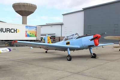 1377 / G-BARS De Havilland Chipmunk Mk22 @ RNAS Yeovilton 11.07.15
