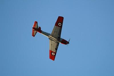 WK608 De Havilland Chipmunk T10 @ RNAS Merryfield 10.06.15