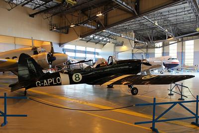WB696 / G-APLO De Havilland Chipmunk @ Classic Air Force Museum 27.06.13