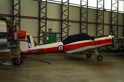WP929 De Havilland DHC-1 Chipmunk G-BXCV @ Duxford 08.09.12