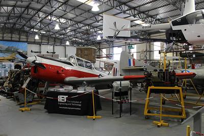 WB733 De Havilland Chipmunk T10 @ South Yorkshire Aircraft Museum 19.04.14