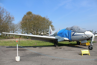 VP967 De Havilland Devon C2 @ Yorkshire Air Museum 21.04.14